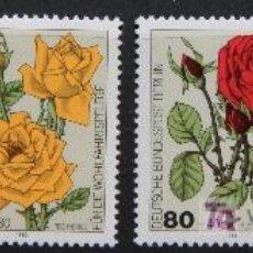 Sellos: ALEMANIA BERLÍN 1982 SELLOS NUEVOS MNH FLORES FLOWERS FL-17. Lote 19424472