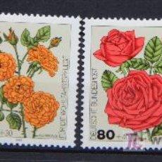 Sellos: ALEMANIA 1982 SELLOS NUEVOS MNH FLORES FLOWERS FL-34. Lote 19427810