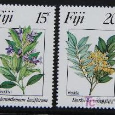 Sellos: FIJI 1984 SELLOS NUEVOS MNH FLORES FLOWERS FL-09. Lote 19445515