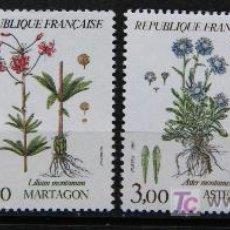 Sellos: FRANCIA 1983 SELLOS NUEVOS FLORES FLOWERS FL-11. Lote 19445598