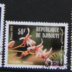 Sellos: DJIBOUTI 1983 SELLOS NUEVOS MH FLORES FLOWERS FL-80. Lote 19445643