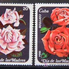 Sellos: CUBA 1984 SELLOS NUEVOS FLORES FLOWERS FL-15. Lote 19446101