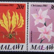 Sellos: MALAWI 1983 SELLOS NUEVOS MNH FLORES FLOWERS FL-51. Lote 19446130