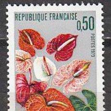 Sellos: FRANCIA IVERT Nº 1738, EL ANTHURIUM DE MARTINICA, NUEVO. Lote 20062924
