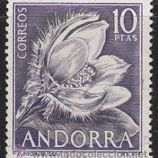 Sellos: ANDORRA EDIFIL Nº 071, FLORES DEL PRINCIPADO (HELEBORUS), NUEVO (VALOR CLAVE). Lote 20307127