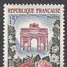 Sellos: FRANCIA IVERT Nº 1189, FIESTAS DE LAS FLORES, NUEVO. Lote 20425758