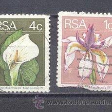Sellos: FLORES DE R.S.A.-USADOS. Lote 22195062