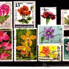 Sellos: LOTE SELLOS -TEMATICA FLORA / FLORES / PLANTAS (AHORRA COMPRANDO MAS SELLO. Lote 22271513