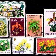 Sellos: LOTE SELLOS -TEMATICA FLORA / FLORES / PLANTAS (AHORRA COMPRANDO MAS SELLO. Lote 22271613