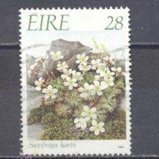 Sellos: IRLANDA- 198-FLORA- YVERT TELLIER 658. Lote 24678729