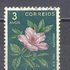 Sellos: MACAU- REPUBLICA PORTUGUESA- FLORA-USADO. Lote 26435769