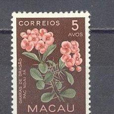 Sellos: MACAU- REPUBLICA PORTUGUESA- FLORA-USADO. Lote 26435792