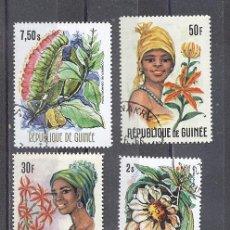 Selos: REPUBLICA DE GUINEA FLORA. Lote 26749999