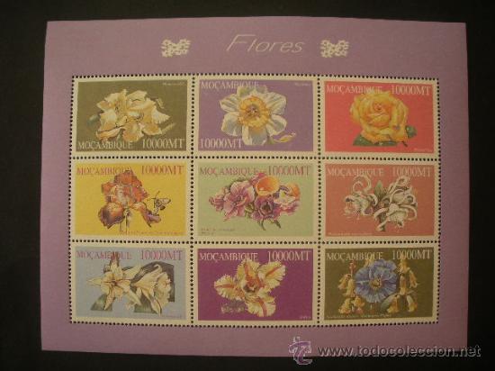 MOZAMBIQUE 2002 IVERT 1817/25 *** FLORA - FLORES DIVERSAS (II) (Sellos - Temáticas - Flora)