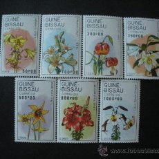 Sellos: GUINEA BISSAU 1989 500/6 *** FLORA - VARIEDADES DE LIRIOS . Lote 36359784