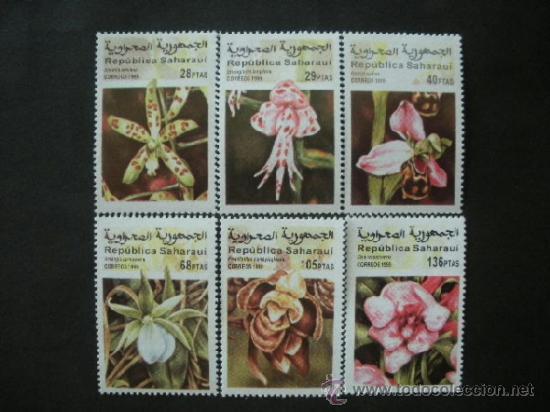 REPUBLICA SAHARAUI 1999 *** FLORA - FLORES DIVERSAS (Sellos - Temáticas - Flora)