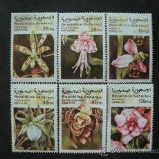Sellos: REPUBLICA SAHARAUI 1999 *** FLORA - FLORES DIVERSAS. Lote 37833687