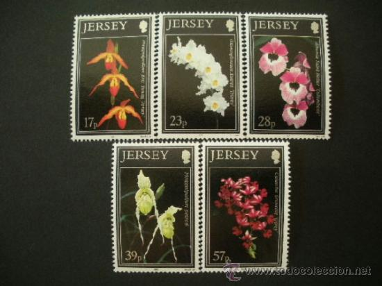 JERSEY 1993 IVERT 589/93 *** FLORA - ORQUIDEAS DE JERSEY (II) - FLORES (Sellos - Temáticas - Flora)