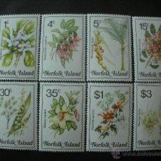 Sellos: NORFOLK 1984 IVERT 113/28 *** FLORES DIVERSAS - FLORA - SERIE BASICA. Lote 40123863