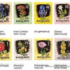 Sellos: FLORA, HUNGRIA AÑO 1961 Nº YVERT 1469-76 NUEVOS SIN FIJASELLOS. Lote 43408134