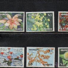 Sellos: FLORA - BANGLADESH - AÑO 1978 Nº YVERT 110-15 SELLOS NUEVOS. Lote 43773203