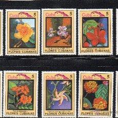 Sellos: FLORA - CUBA - AÑO 1983 - Nº YVERT 2495-04 NUEVOS. Lote 43967520