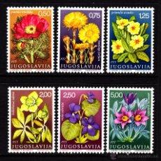 Timbres: YUGOSLAVIA 1224/29** - AÑO 1969 - FLORA - FLORES Y PLANTAS MEDICINALES. Lote 199781496