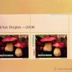 Sellos: ESPAÑA 2008 - SETAS Y HONGOS - BOLETUS REGIUS.. Lote 47524156