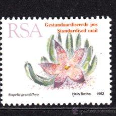 Sellos: SUDAFRICA 781A** - AÑO 1993 - FLORA - FLORES - CACTUS. Lote 47566103