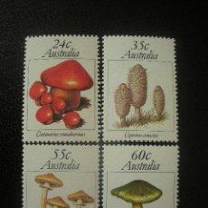 Sellos: AUSTRALIA 1981 IVERT 742/5 *** SETAS - FLORA. Lote 50638202