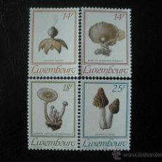 Sellos: LUXEMBURGO 1991 IVERT 1217/21 *** FLORA - SETAS DE LUXEMBURGO. Lote 50718138