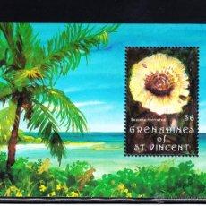 Sellos: GRANADINAS DE SAN VICENTE HB 85** - AÑO 1992 - FLORA - SETAS. Lote 50952912