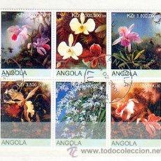 Francobolli: ANGOLA & FLORES (23). Lote 54842046