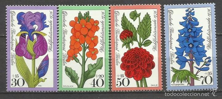 SELLO ALEMANIA 1981 TEMÁTICA FLORA - BIENESTAR - FLORES (Sellos - Temáticas - Flora)