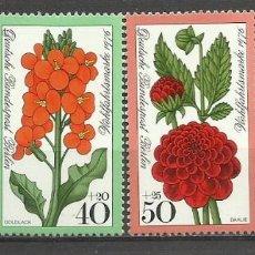 Sellos: SELLO ALEMANIA 1981 TEMÁTICA FLORA - BIENESTAR - FLORES . Lote 58614323