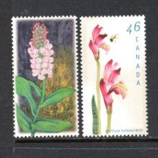 Sellos: CANADÁ 1658/61** - AÑO 1999 - FLORA - FLORES -ORQUIDEAS. Lote 177433984