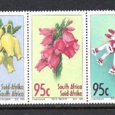 Sellos: SUDAFRICA 861/65** - AÑO 1994 - FLORA - FLORES. Lote 61063755