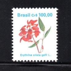 Sellos: BRASIL 1979** - AÑO 1990 - FLORA - FLORES. Lote 63280164