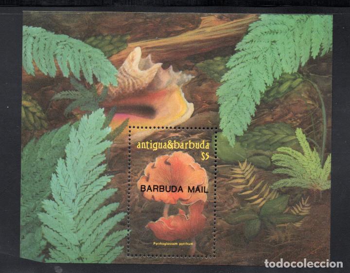 BARBUDA HB 109** - AÑO 1986 - FLORA - SETAS (Sellos - Temáticas - Flora)
