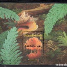 Sellos: BARBUDA HB 109** - AÑO 1986 - FLORA - SETAS. Lote 68277785
