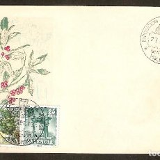 Sellos: ESPAÑA. 1973. SOBRE FILATELICO IBERFLORA 73. VALENCIA . FLORES. Lote 83816512