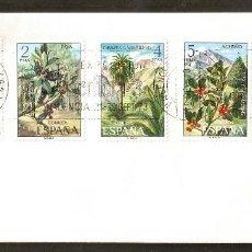 Sellos: ESPAÑA. 1973. SOBRE FILATELICO IBERFLORA 73. VALENCIA . FLORES. Lote 83817144