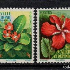 Sellos: NUEVA CALEDONIA 288/89** - AÑO 1958 - FLORA - FLORES. Lote 84564612