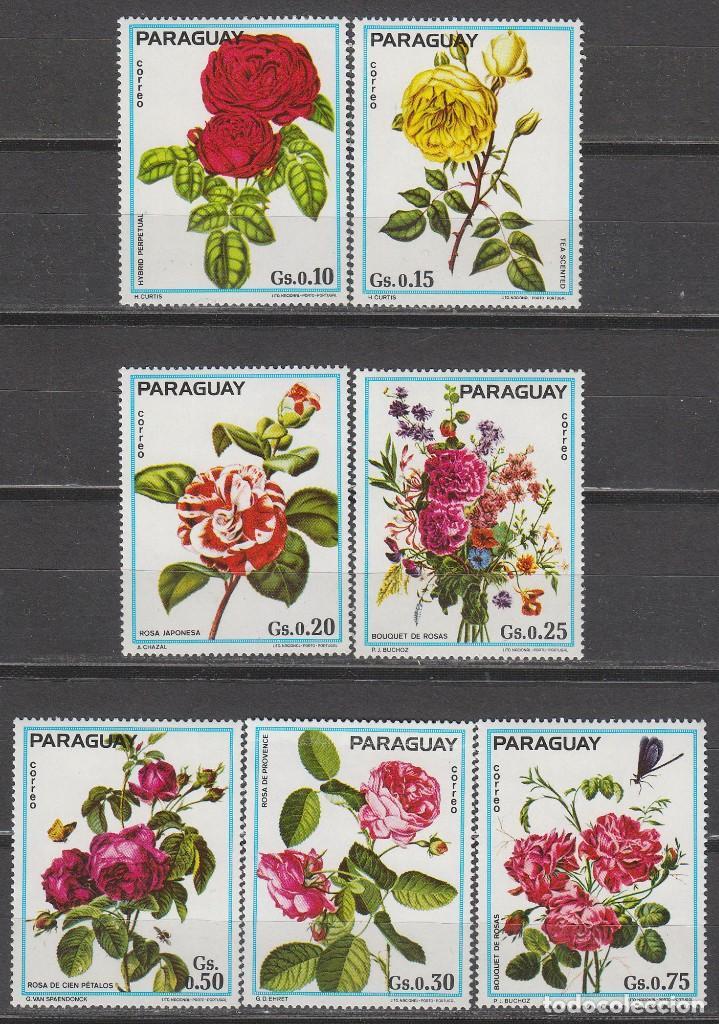 PARAGUAY 2564, ROSAS, NUEVO *** (Sellos - Temáticas - Flora)