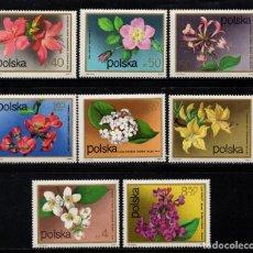 Sellos: POLONIA 2058/65** - AÑO 1972 - FLORA - FLORES . Lote 119042131