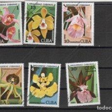 Sellos: CUBA Nº 2191 AL 2196 (**). Lote 95755423