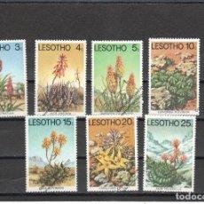 Sellos: LESOTHO Nº 323 AL 329 (**). Lote 277299888