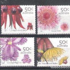 Sellos: AUSTRALIA Nº 2351/2354º FLORA AUSTRALIANA. SERIE COMPLETA. Lote 118477035