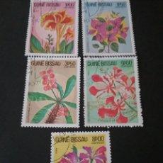 Sellos: SELLOS R. GUINEA BISSAU MATASELLADO. 1983. ORQUIDEAS. PLANTAS. FLORES. NATURALEZA. BOTANICA.. Lote 121057478