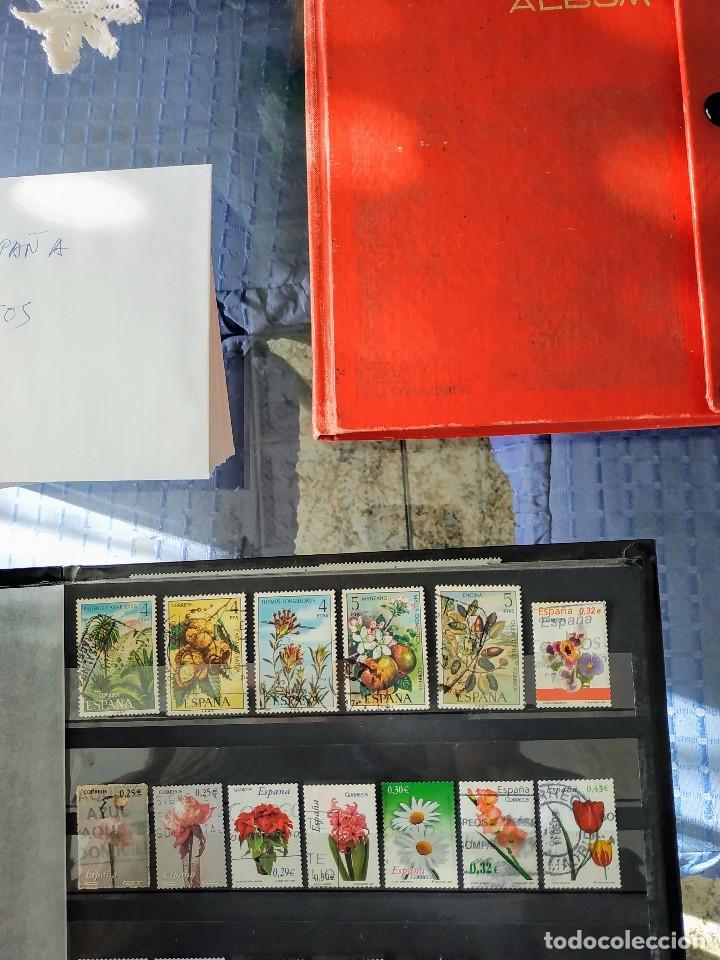 Sellos: ESPAÑA - FLORA 24 SELLOS - Foto 2 - 145545018
